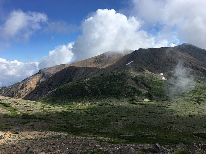 御嶽山 トレイルランニング