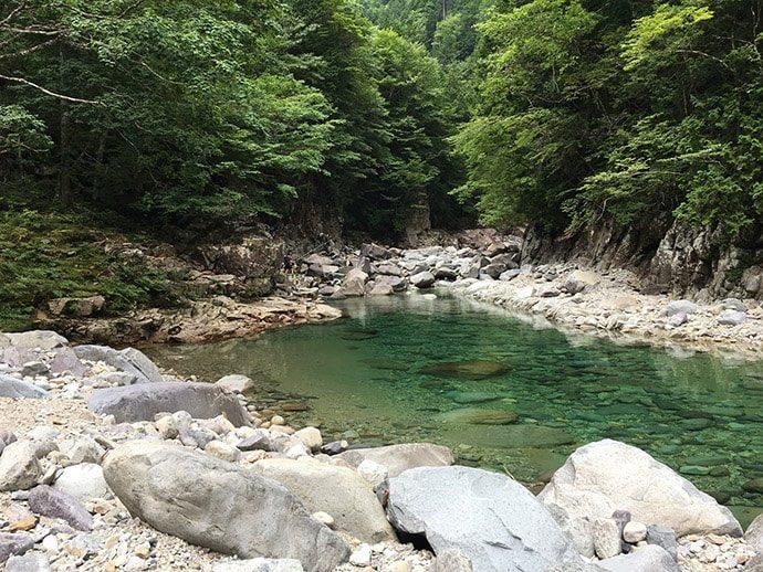 王滝村 テンカラ