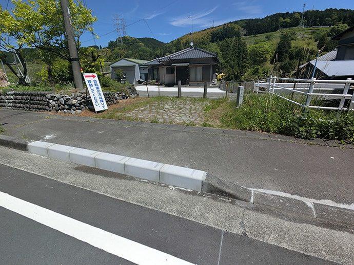菊川宿の入口