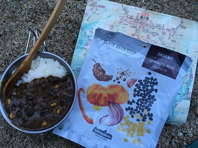 Patagonia provisions BLACK BEANS SOUPのカレー
