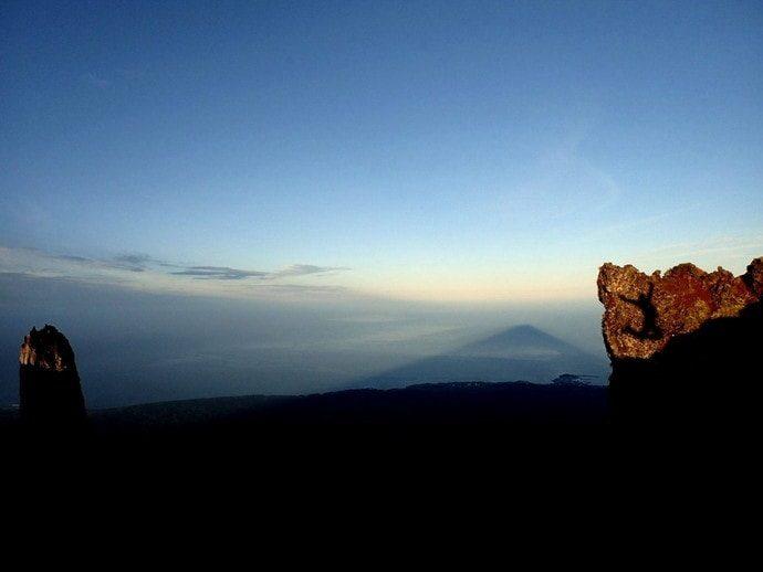 利尻島 登山