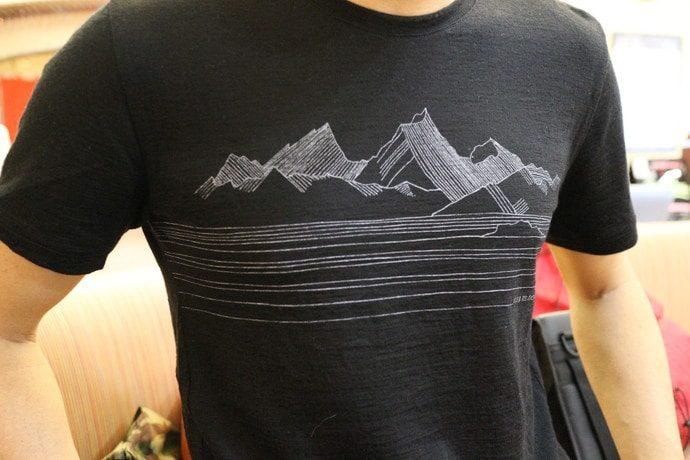 アイスブレーカー Tシャツ テックライト