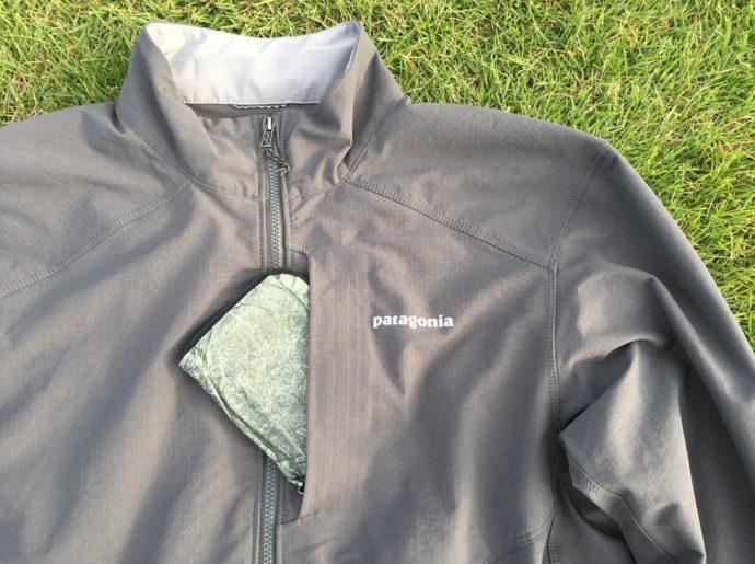 パタゴニア ダートクラフトジャケットの胸ポケット