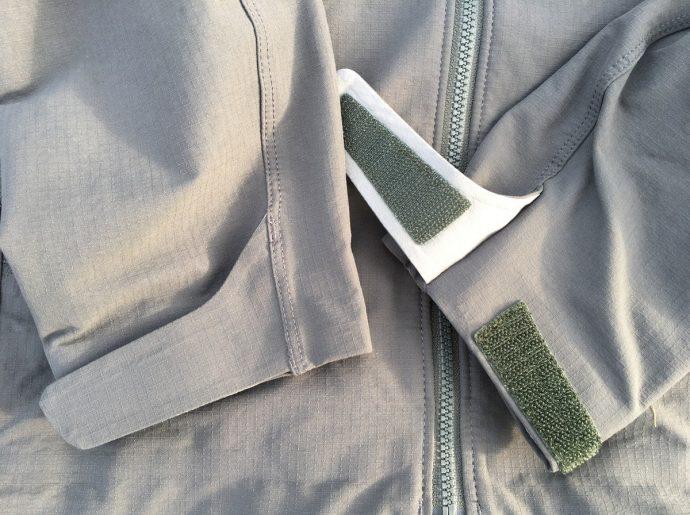 パタゴニア ダートクラフトジャケットのベルクロ