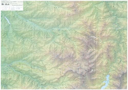 剱岳測量100年記念 1:30,000山岳集成図「剱・立山」
