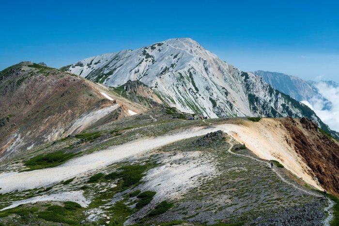 登山 稜線