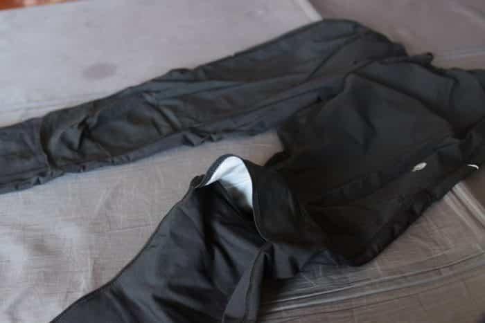 マウンテンハードウェア ビズルパワータイツの膝