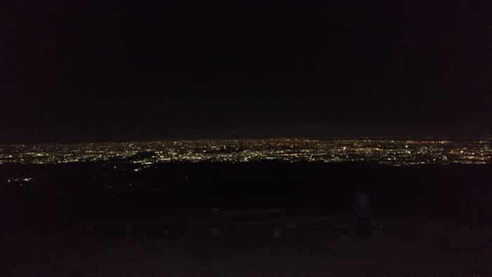 夜景の大パノラマ