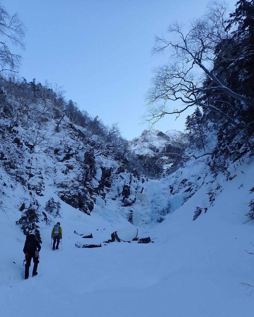 八ヶ岳で登山