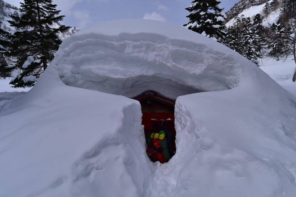 雪山の登山