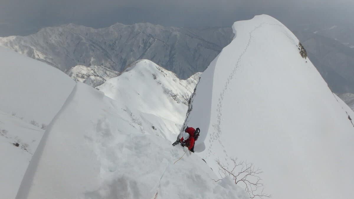 厳冬期の登山