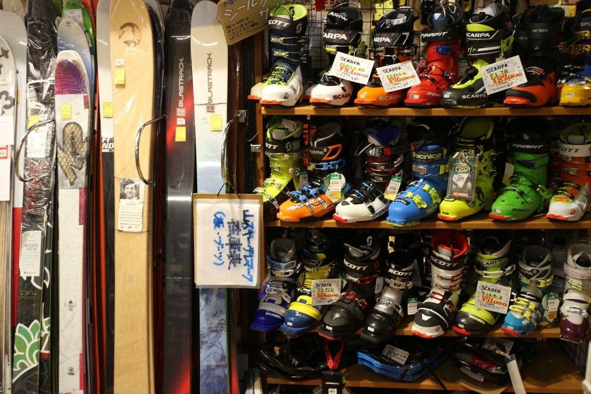 千葉県津田沼 アウトドアショップ ヨシキスポーツのスキー