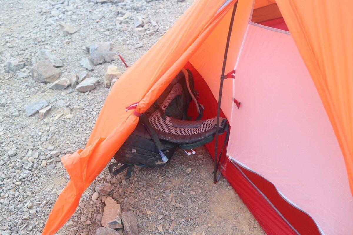 MSRアクセス2 テント