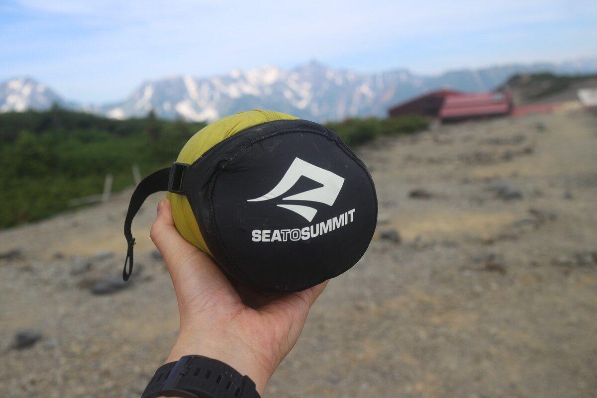 ウルトラライトなシュラフで軽快な登山を『シートゥサミット スパークSp1』