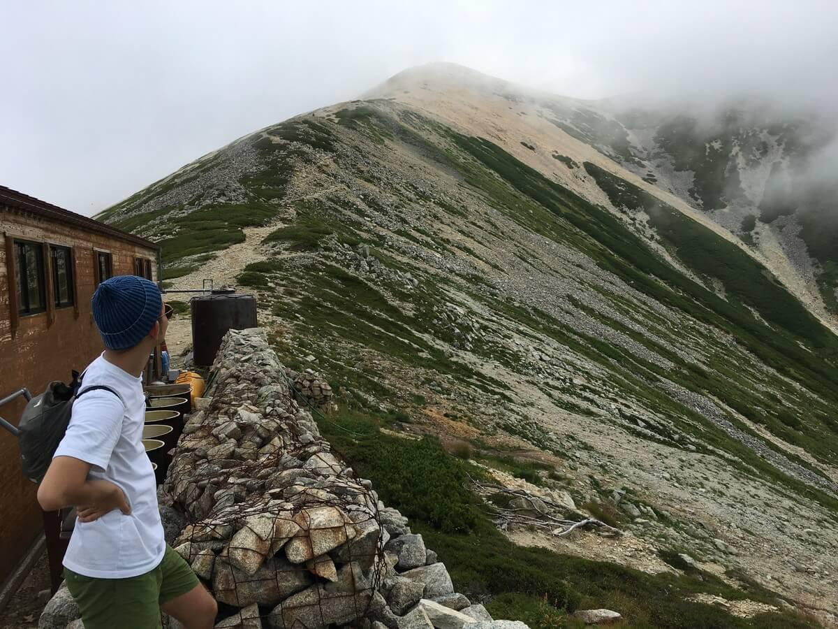 薬師岳山荘