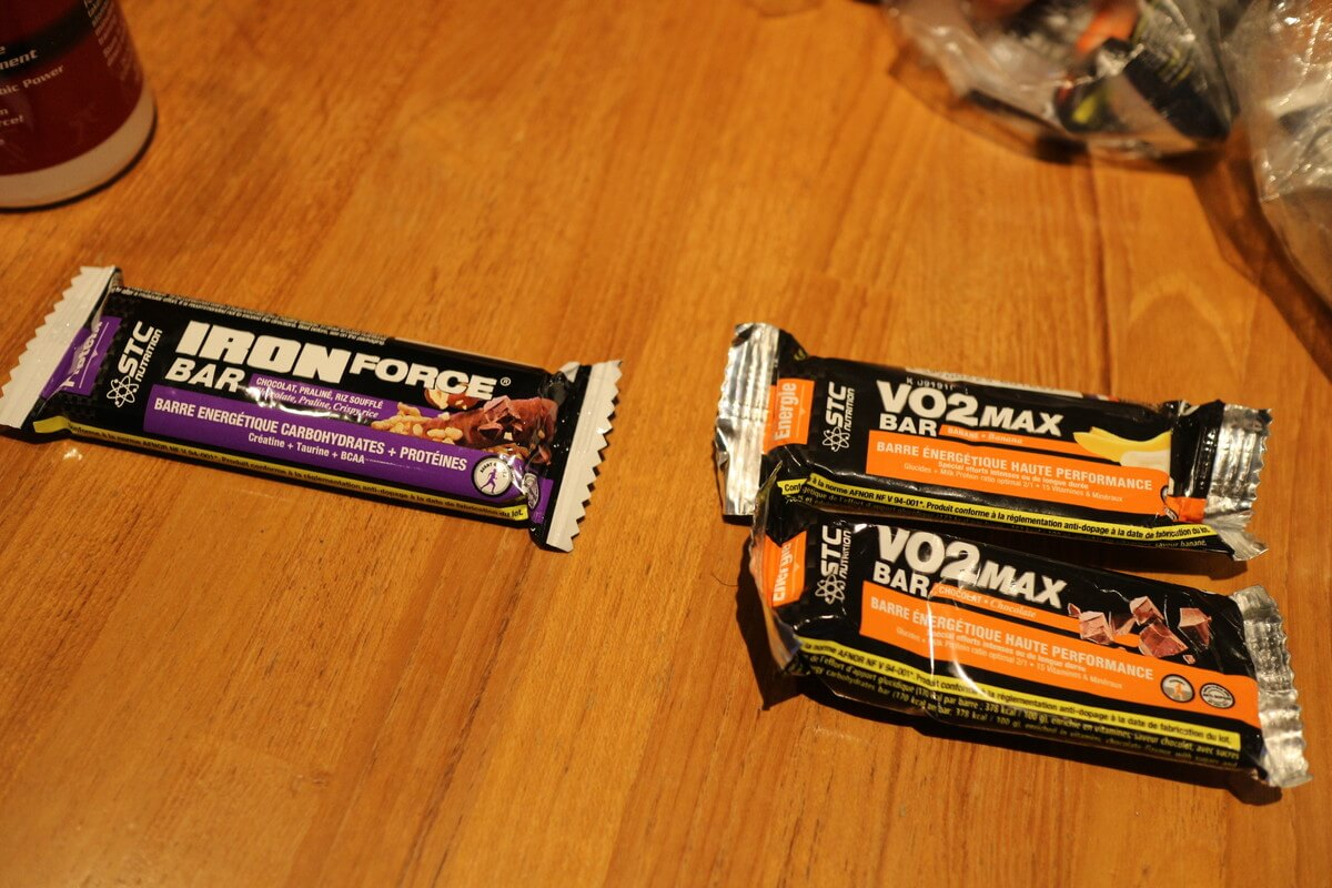 吉住友里のおすすめ補給食エネルギーバー『VO2 MAX&IRON FORCE』