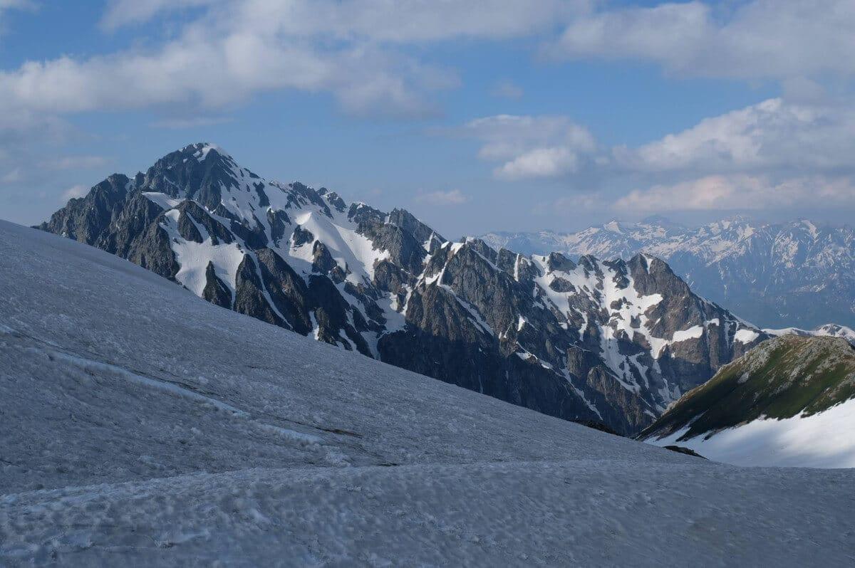 奥大日岳からの剱岳