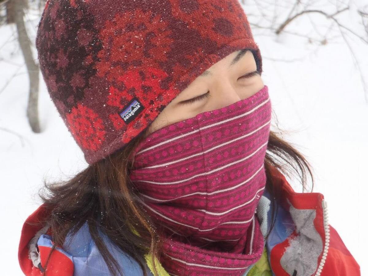 顔周りを温かく保つウールの良さ『スマートウール&パタゴニア アクセサリー』