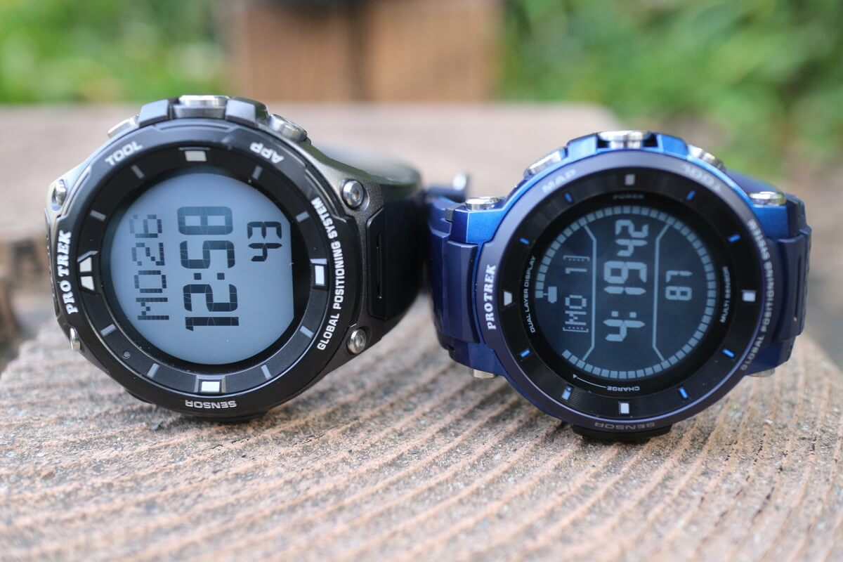 カシオのプロトレックスマートWSD-F30とF20