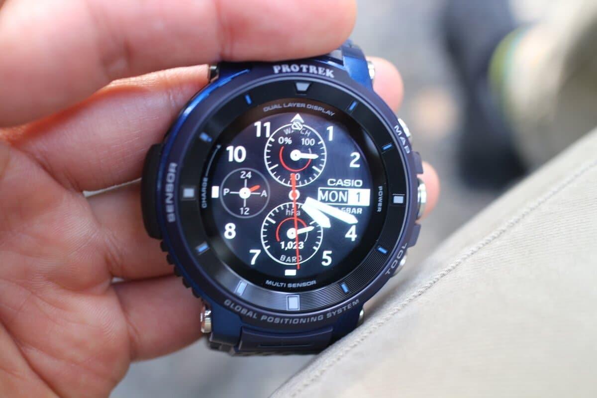 カシオプロトレックスマートWSD-F30