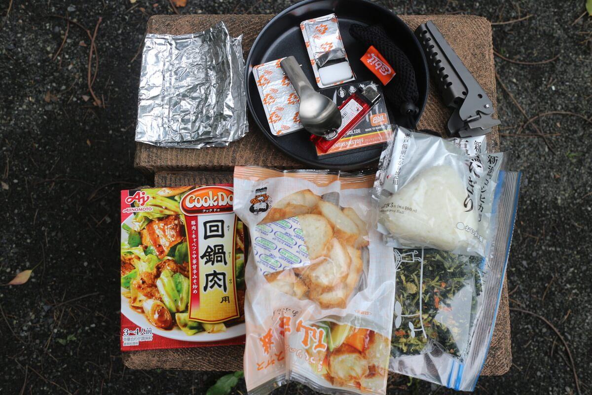 山ごはん『仙台麩回鍋肉』の材料