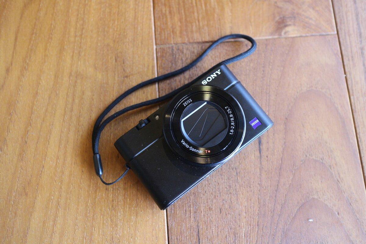 SONY RX100Ⅲ 登山用の軽量コンパクトカメラ