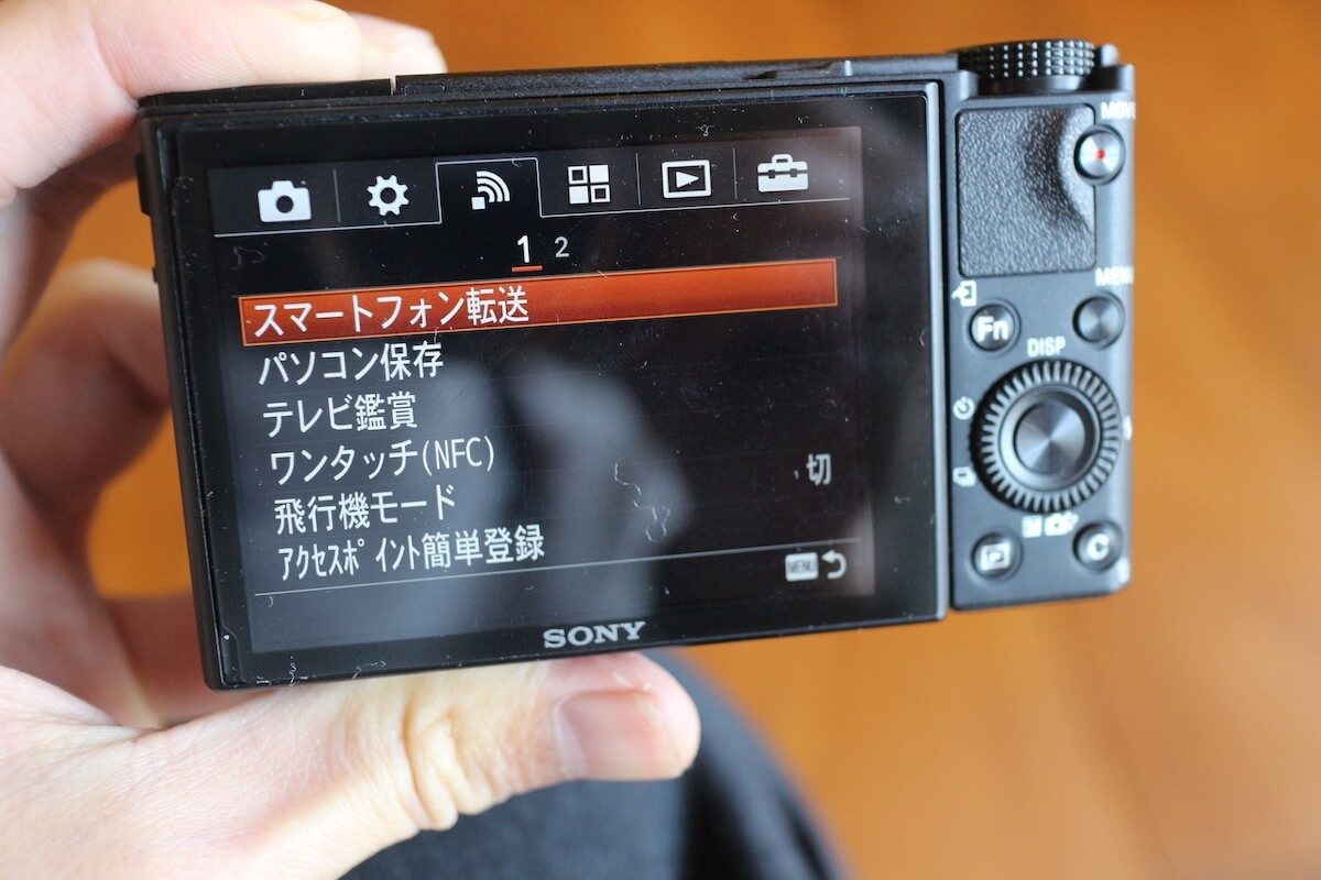 スマホ転送できるカメラ