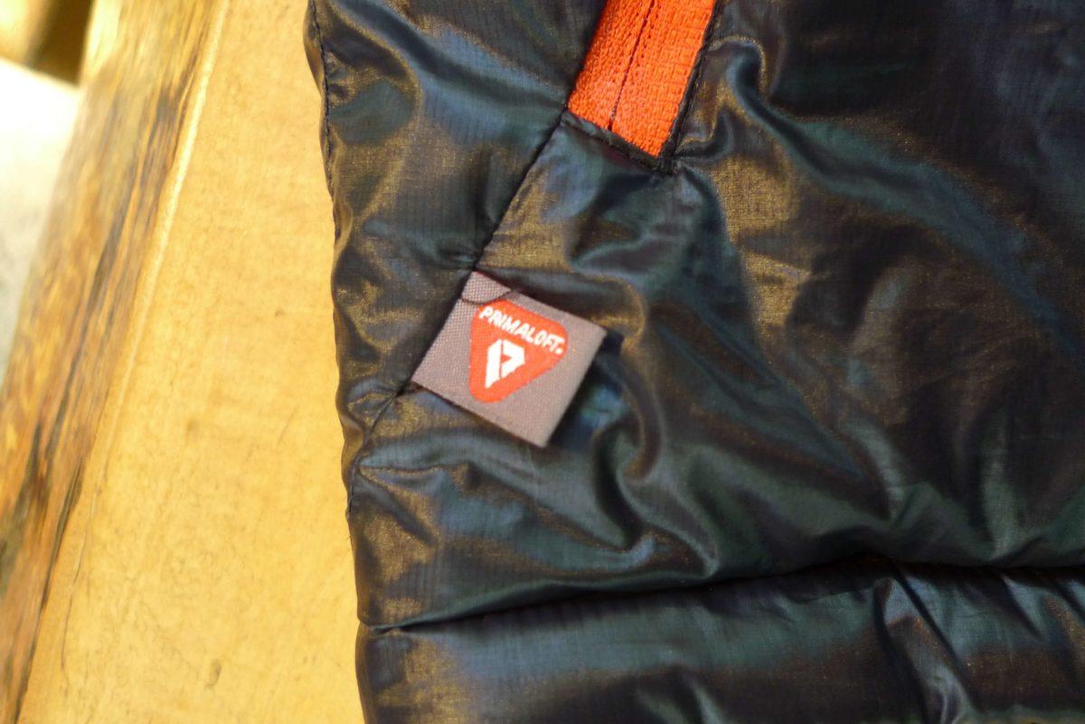 寝袋と防寒着の二役、そして軽いOMMの半シュラフ