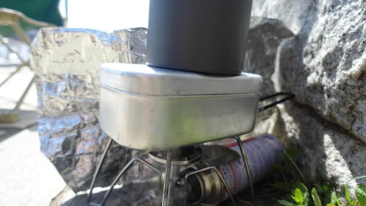 メスティンの炊飯ポイント その3「炊飯時の火加減」