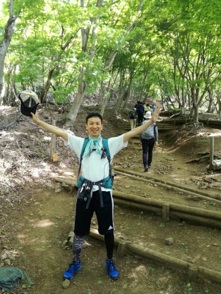 塔ノ岳 登山を楽しむ