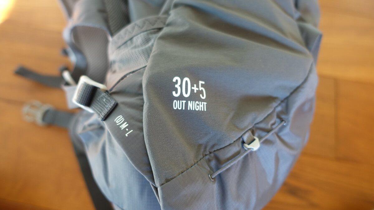 サロモン バックパック『OUT NIGHT 30+5』