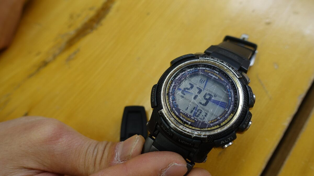 時計に求める機能 コンパス
