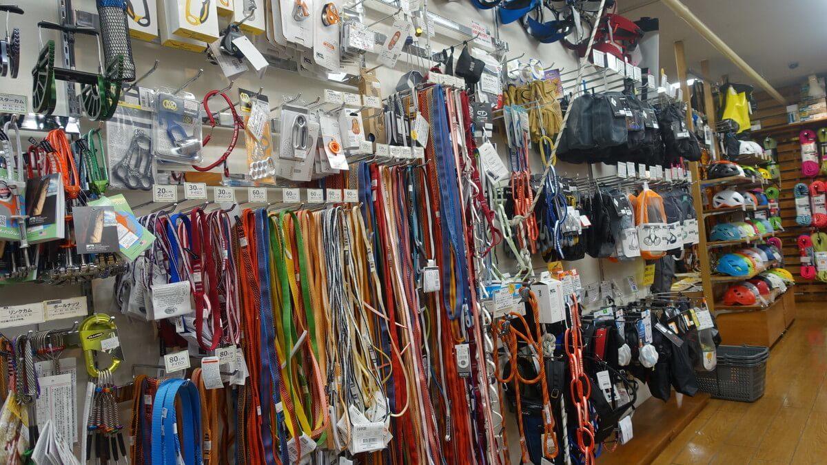 カモシカスポーツで手に入れることの出来る道具たち