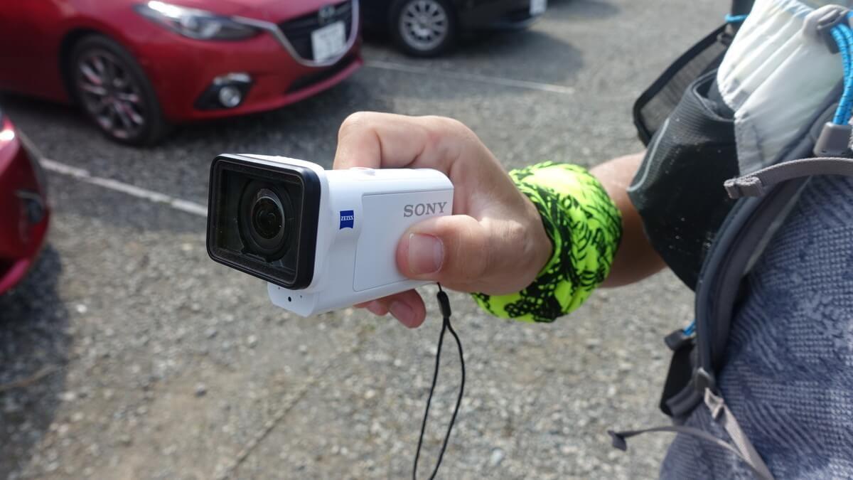 塔ノ岳登山の動画撮影
