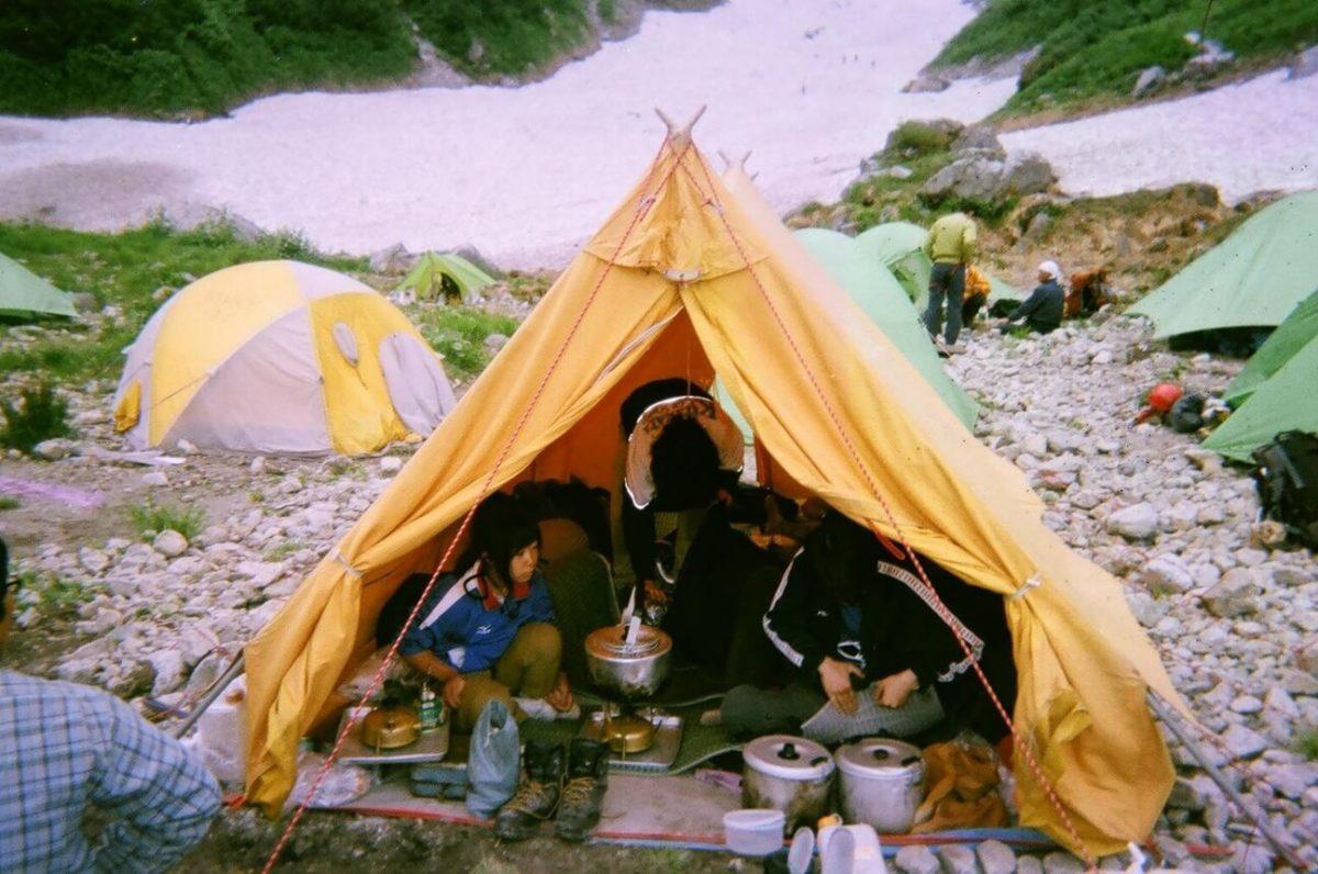 テント内は非常に快適