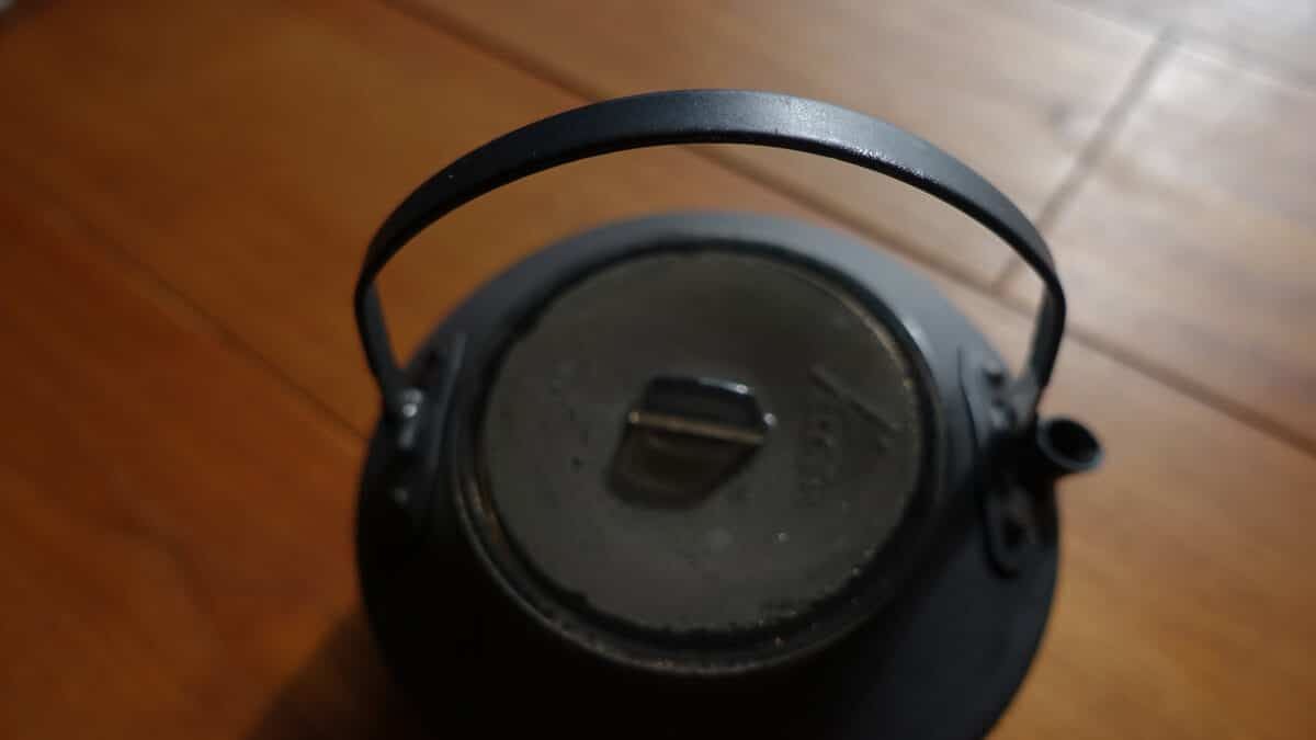 MSRアルミ製ティーポット PIKA 1 Lのハンドル