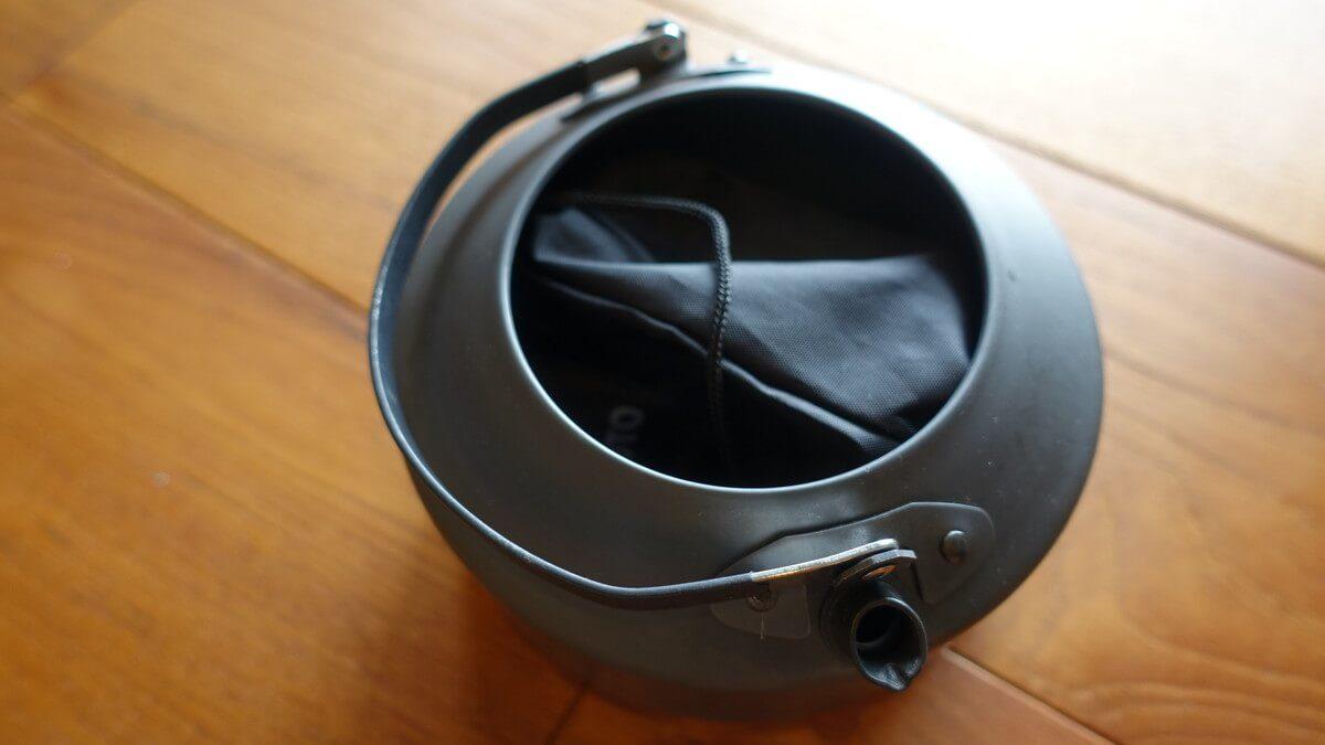 MSRアルミ製ティーポット PIKA 1 Lの蓋