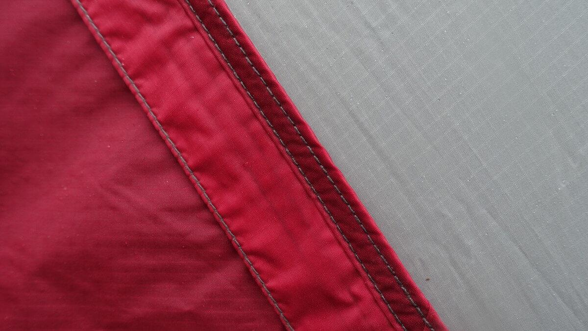 MSRテントの縫製技術