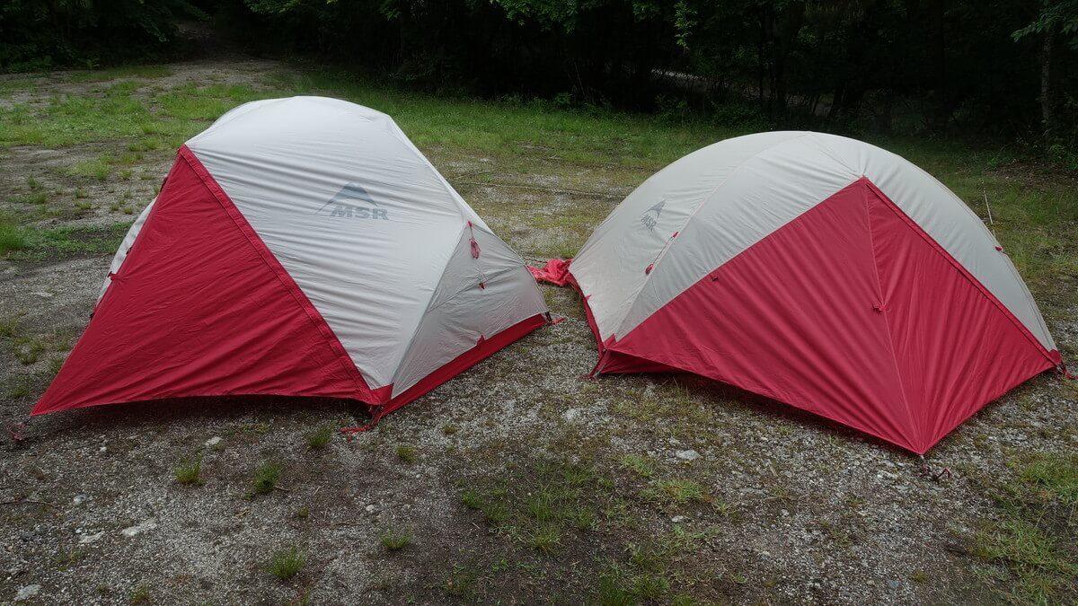 MSRの登山テント