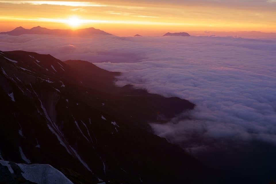 北アルプス・八ヶ岳 7/11現在の山の状況を俯瞰する