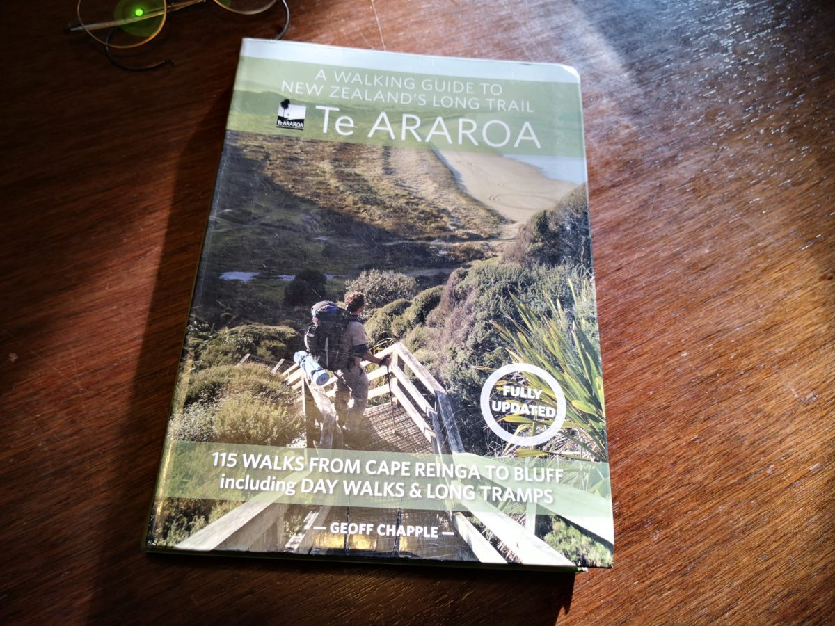 teararoa guide book