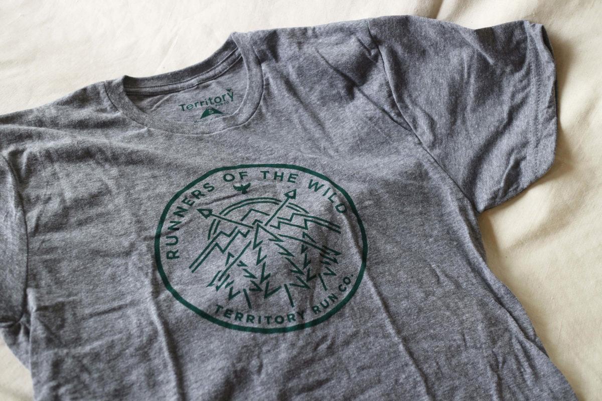 トレイルランニングで日射病対策のTシャツ