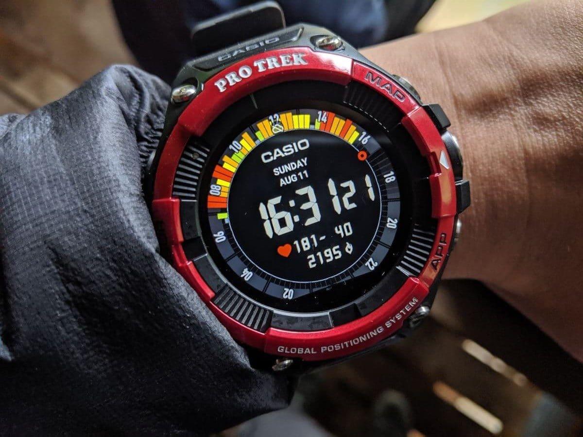 登山に最適なペース配分まで解るスマートウォッチ「プロトレックスマートWSD-F21HR」