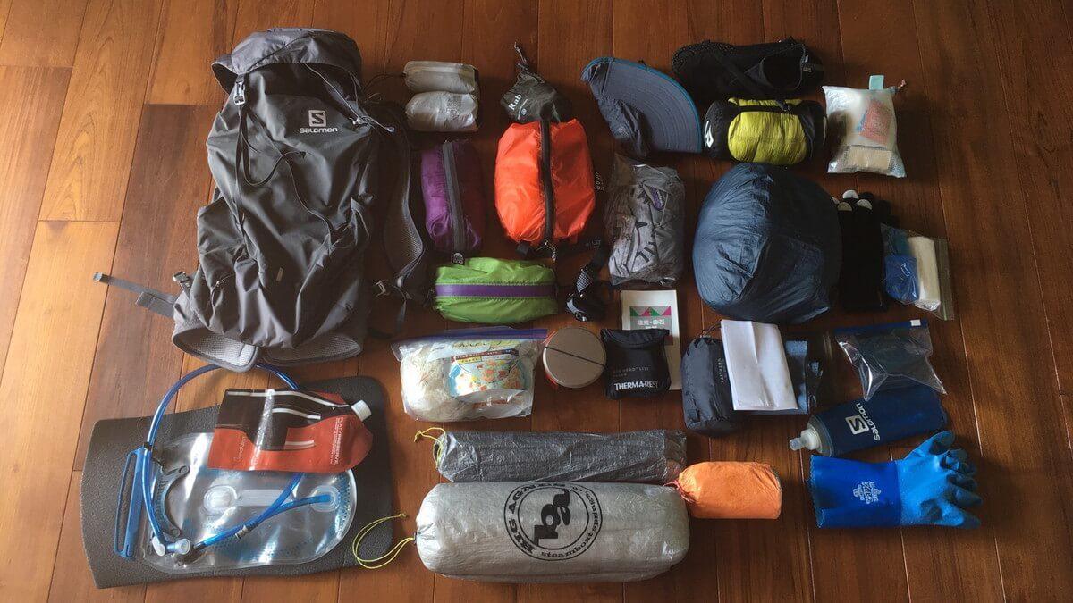 軽量化で楽しむ南アルプス縦走登山 装備編