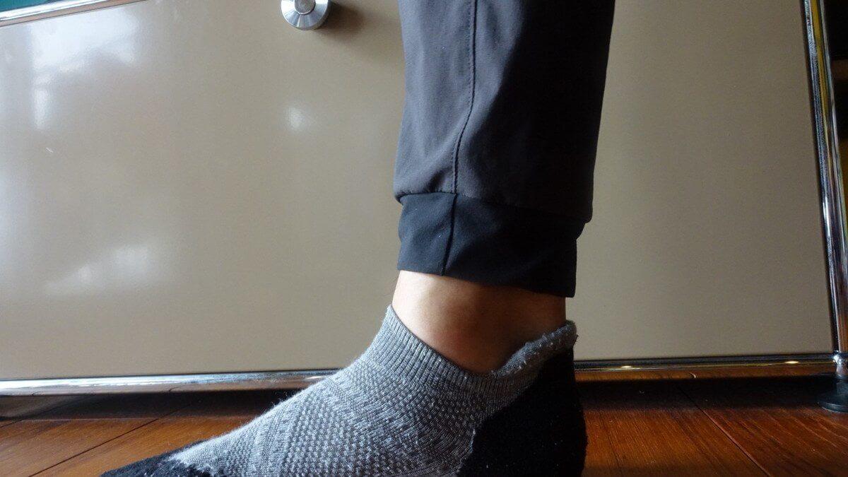 パタゴニア テルボンヌ・ジョガーズの裾