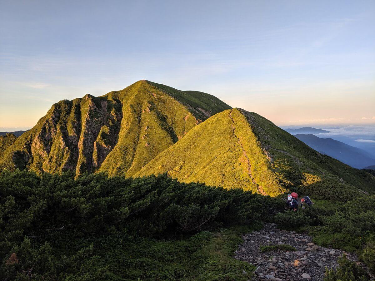 小兎岳からの景色