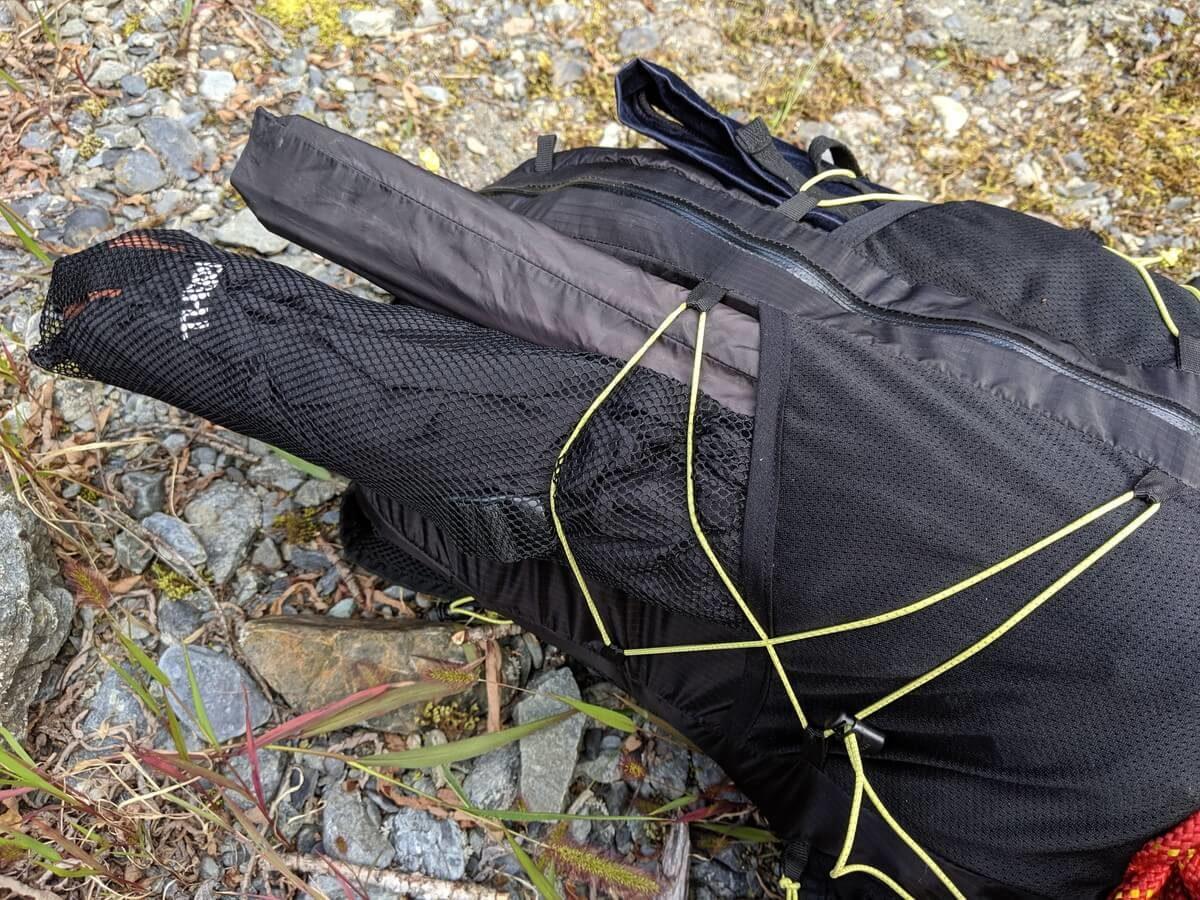 テラノバ レーサー20プロの外付けポケット