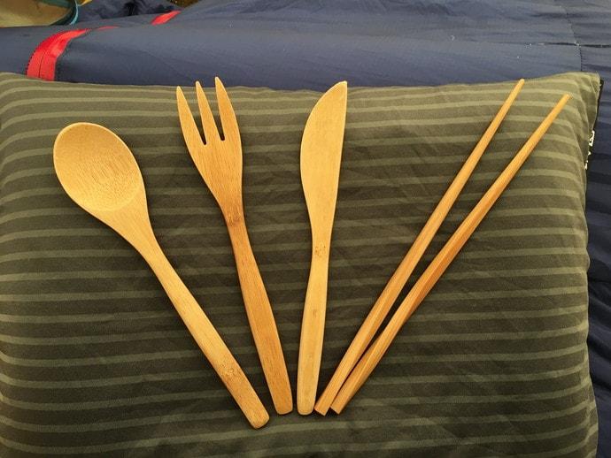 山ごはんを食べる道具