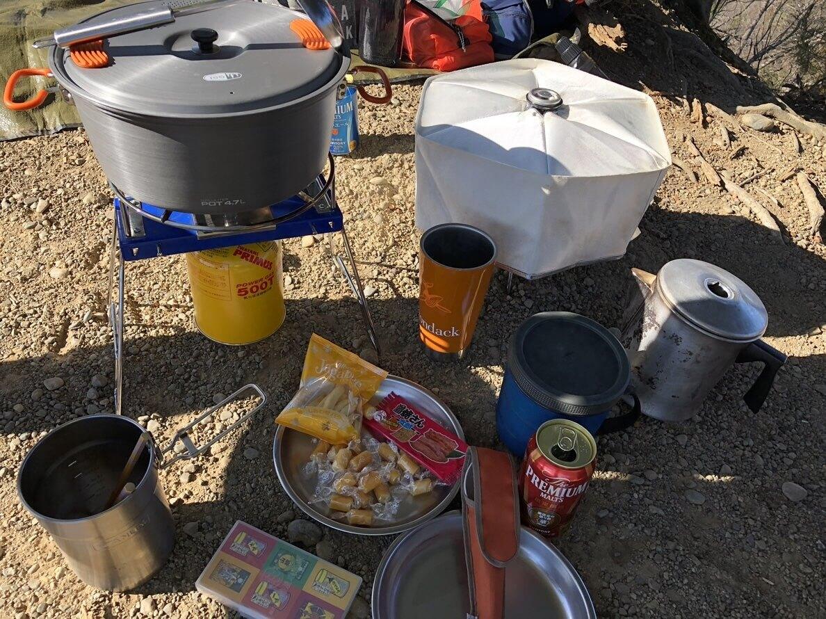 ミステリーランチ バックパック Swiftで遊ぶ食事