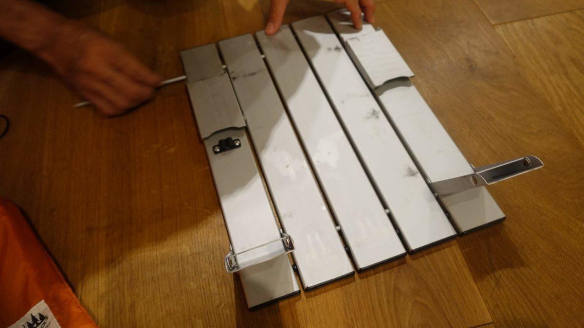 GSIマイクロテーブル スモールの組み立て方